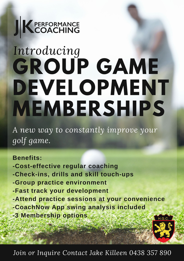 Heidelberg Group Golf Lessons and Memberships
