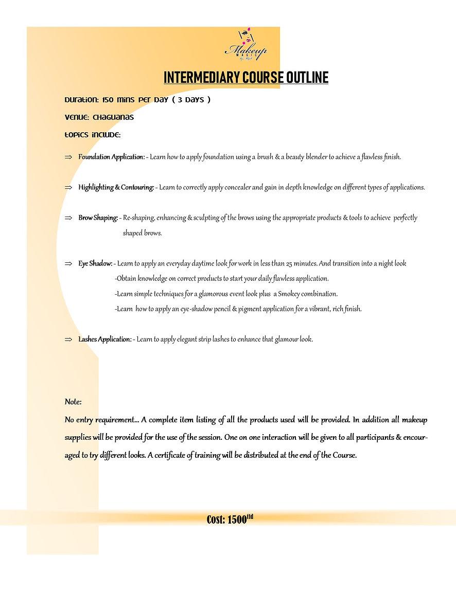 Basic to Intermediary Makeup Courses Trinidad & Tobago