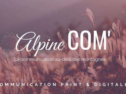 Alpine Com, agence de communication en Maurienne.