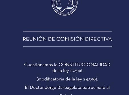 Resolución: Presentación Judicial