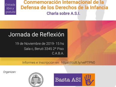 Jornada de Reflexión 19/11/19