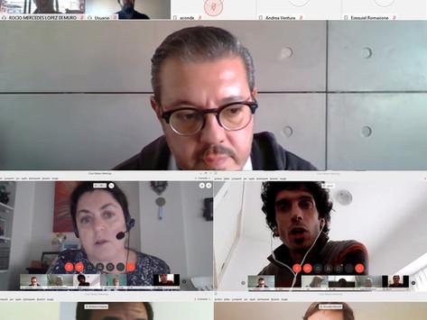 Reunión Virtual de Comisión Directiva