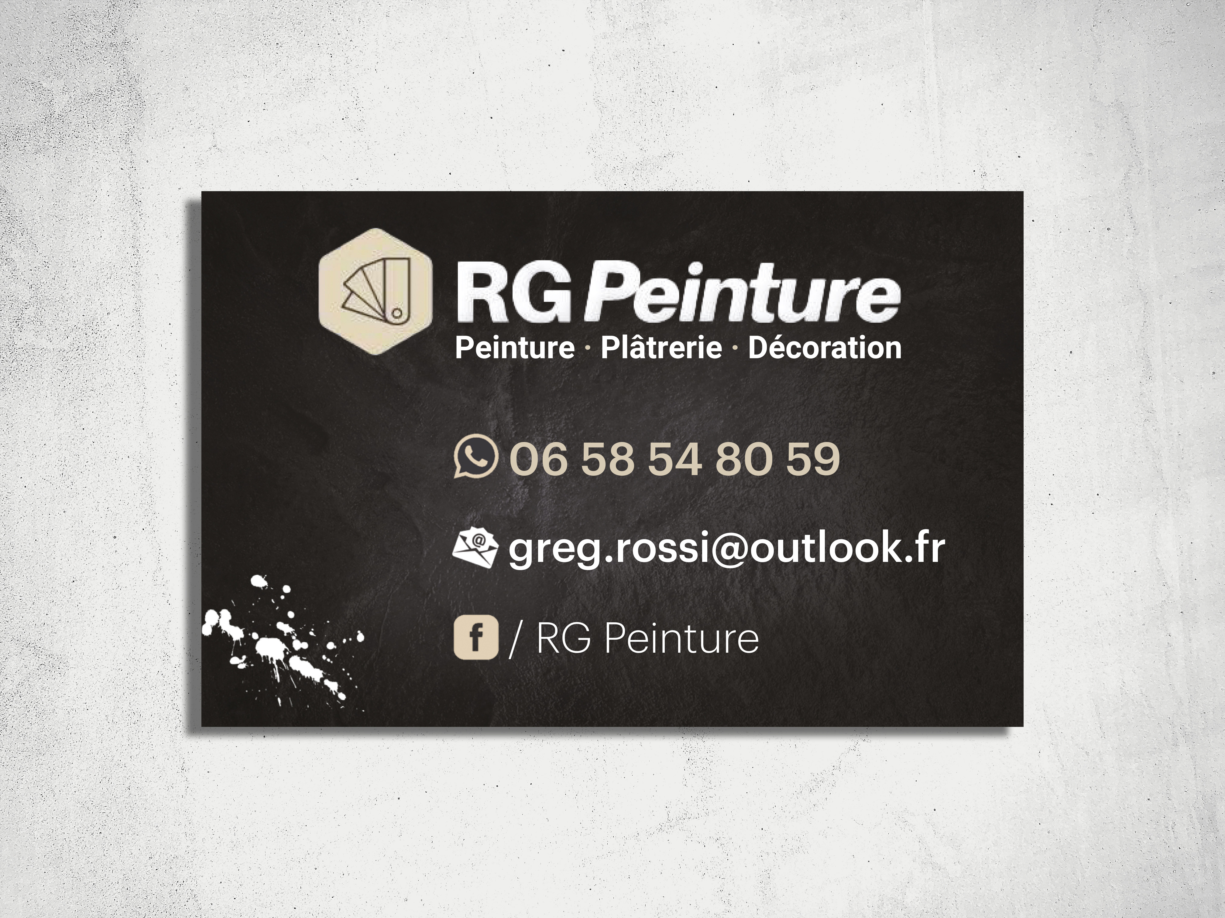 rg peinture