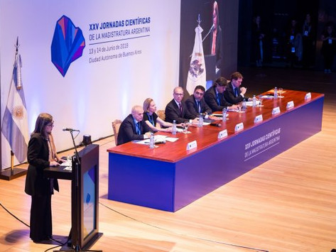 Fotos de la XXV Jornadas Científicas de la Magistratura Argentina
