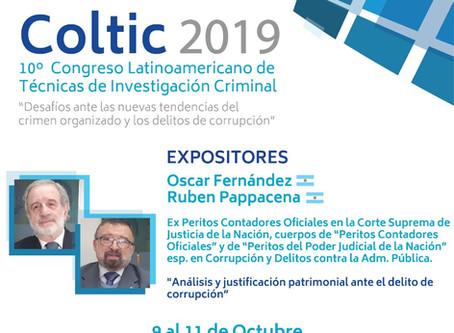 10˚ Congreso Latinoamericano de Técnicas de Investigación Criminal