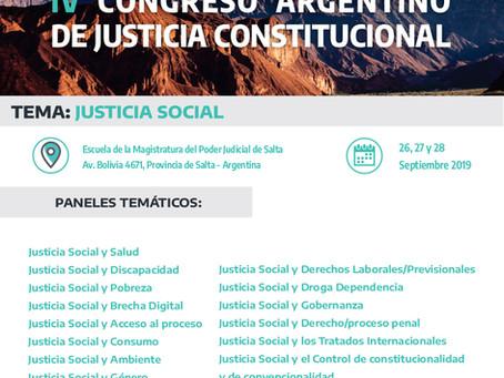 IV Congreso Argentino de Justicia Constitucional