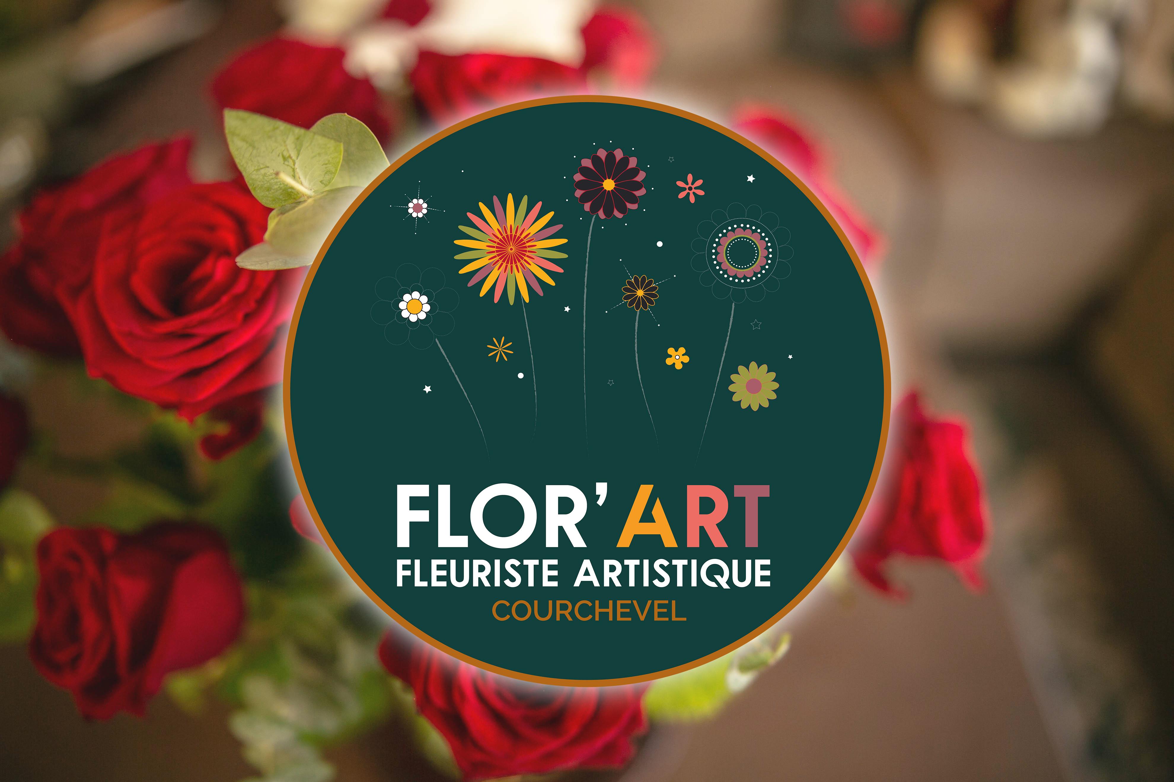 Logo Flor'Art simulation 3D