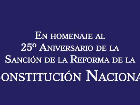 Conmemoración 25 años Reforma Constitucional