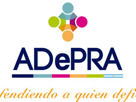 Firma de convenio con Adepra