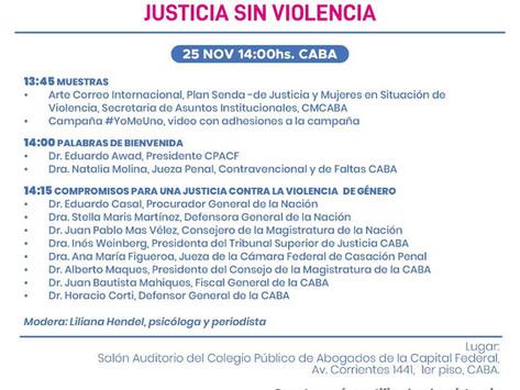 Jornada Federal: Justicia Sin Violencia