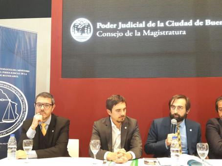 Participación del Colegio de Magistrados en la Feria del Libro