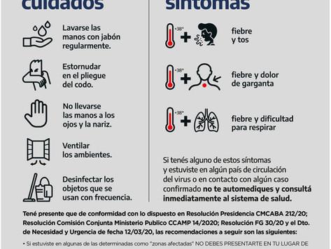 Coronavirus, saber para prevenir