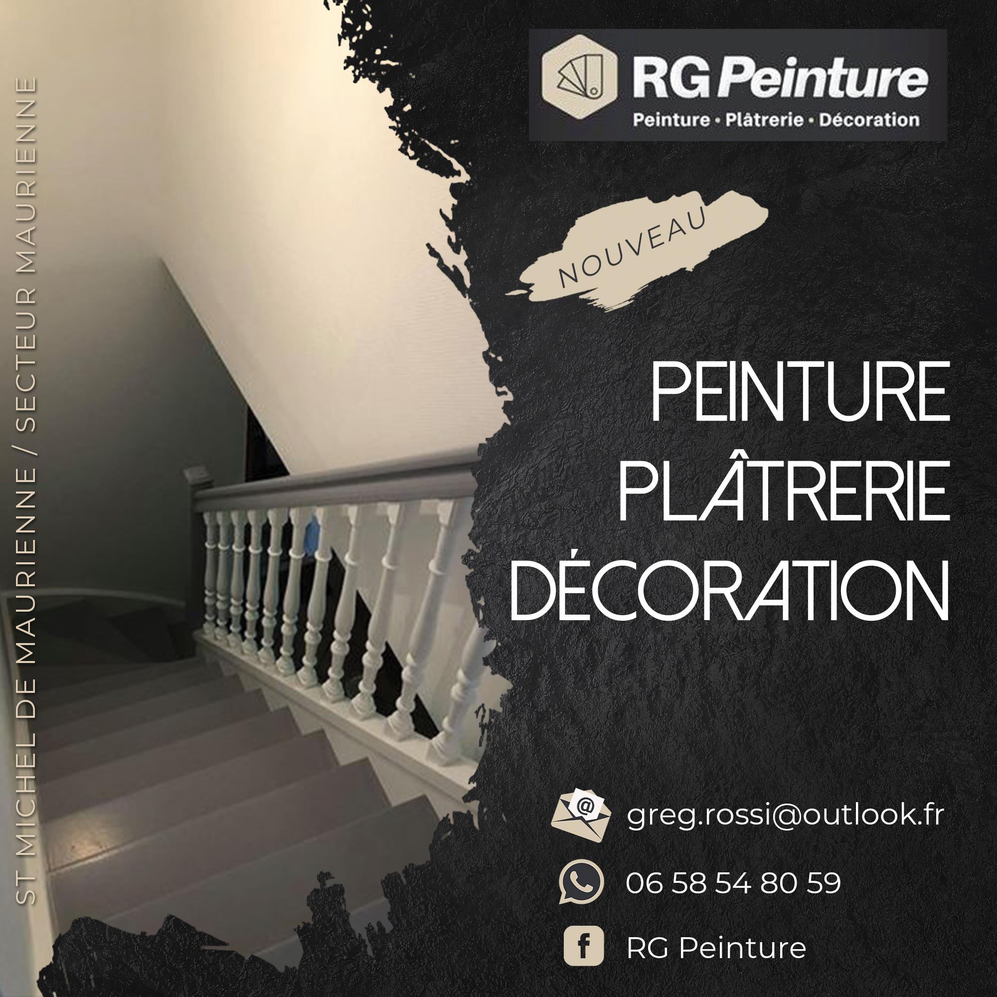 Flyer recto RG Peinture