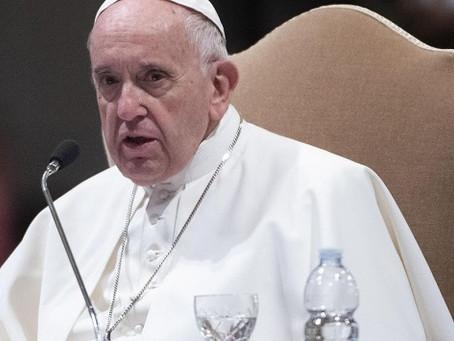 """El Papa aseguró que """"donde hay un buen juez, la sociedad anda bien"""""""