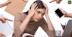 problem: urban people generally face excessive stress