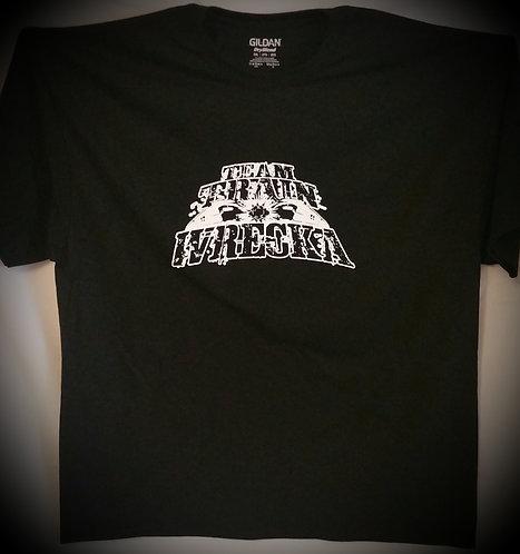 "Men Black ""Team Train Wrecka"" T-Shirt"