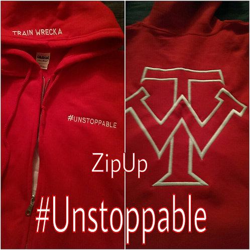 Train Wrecka Zip Up Hoodies