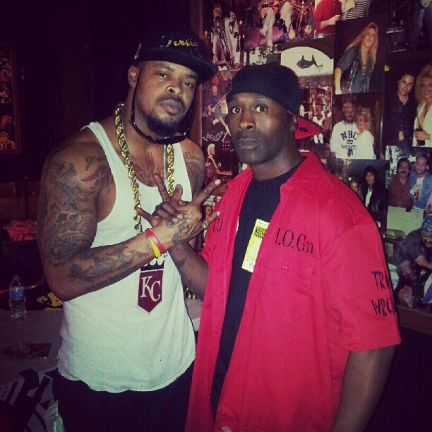 Train Wrecka and Kutt Calhoun