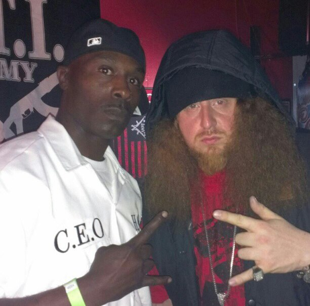 Train Wrecka and Rittz (White Jesus)