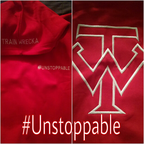 "Red Train Wrecka ""Unstoppable"" Hoodies"