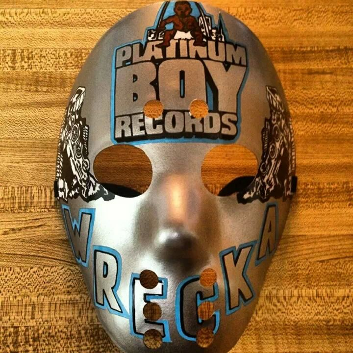 Platinum Boy Records Mask