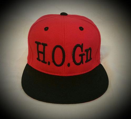 Red/Black H.O.Gn Snapback Hats