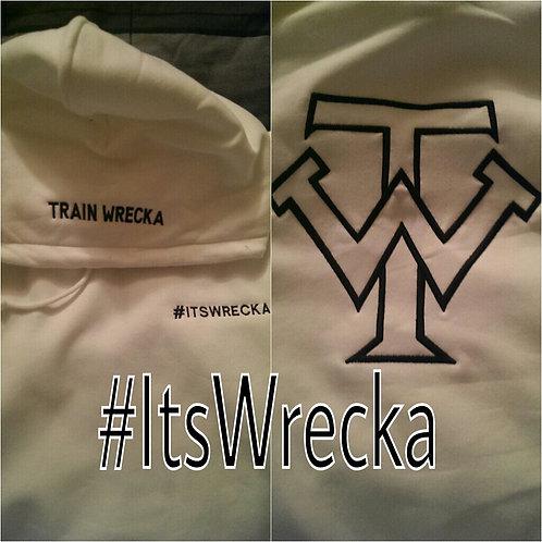"White Train Wrecka ""ItsWrecka"" Hoodies"