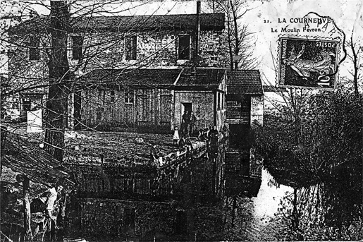 Moulin Fayvon Postcard