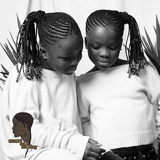 Twin love 💛 hair done at #aahairbraidin