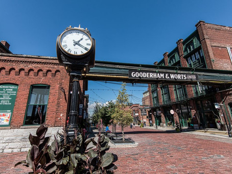 Unique Neighbourhoods to Visit in Canada: The Distillery District, Toronto