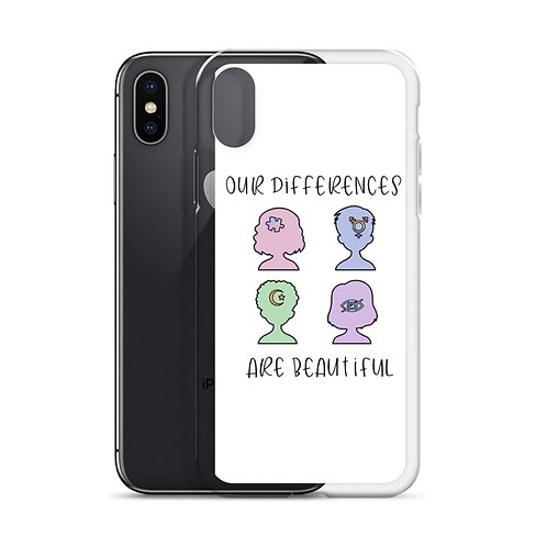 """Our Differences are Beautiful"" Phone Case"