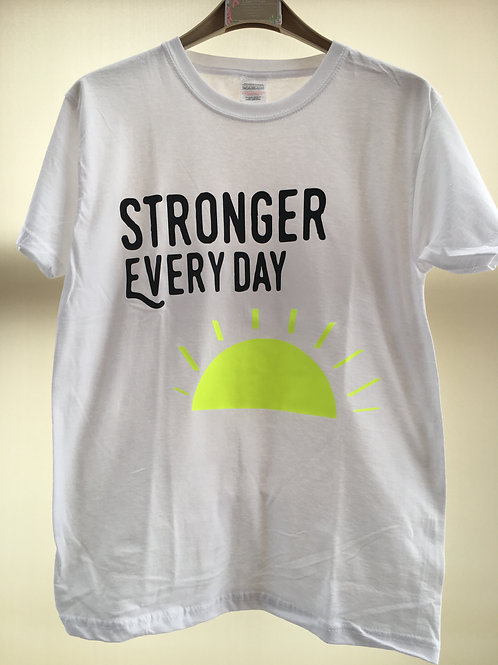Stronger Every Day Unisex Shirt Long sleeve available