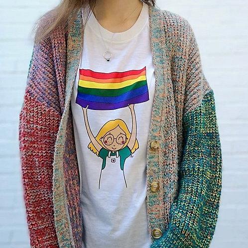 Gay Pride (fem) Shirt