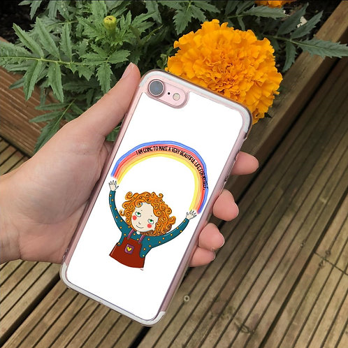 I Am Going To Make a Beautiful Life for Myself Phone Case