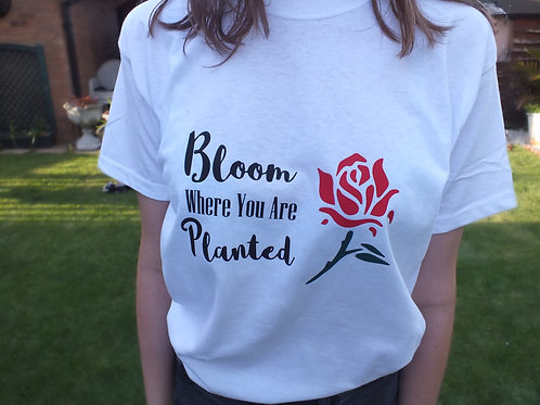 Bloom Where You Are Planted Shirt Long sleeve available