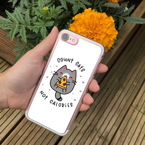 Count Cats Not Calories Phone Case