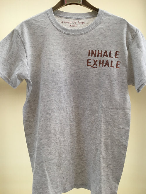 Inhale Exhale Motivational Shirt. (long sleeve available)