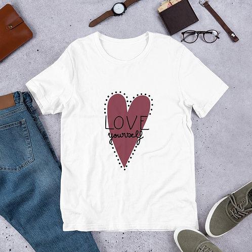 Love Yourself Heart Shirt
