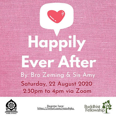 Happily Ever After By Bro Zeming and Sister Amy