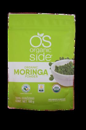 Polvo de Moringa Organico