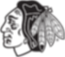 NHL_BlackHawks_Logo_bw_on_transparent.pn