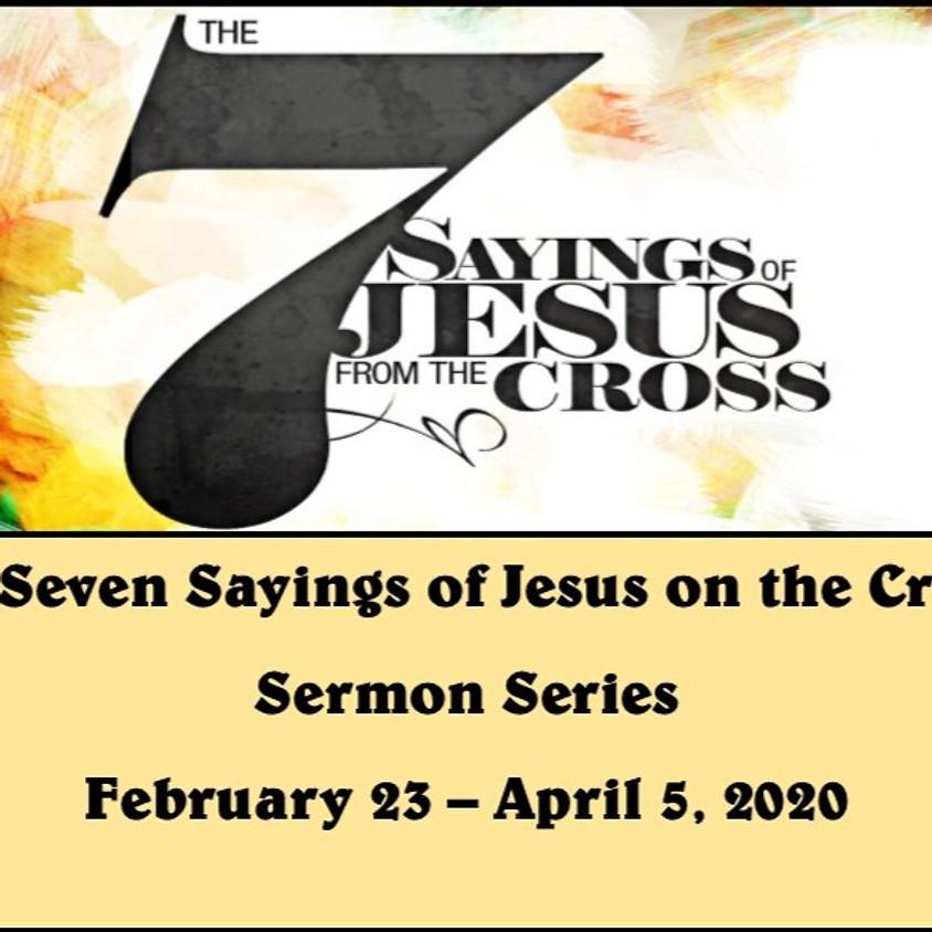7 Saying of Jesus on the Cross