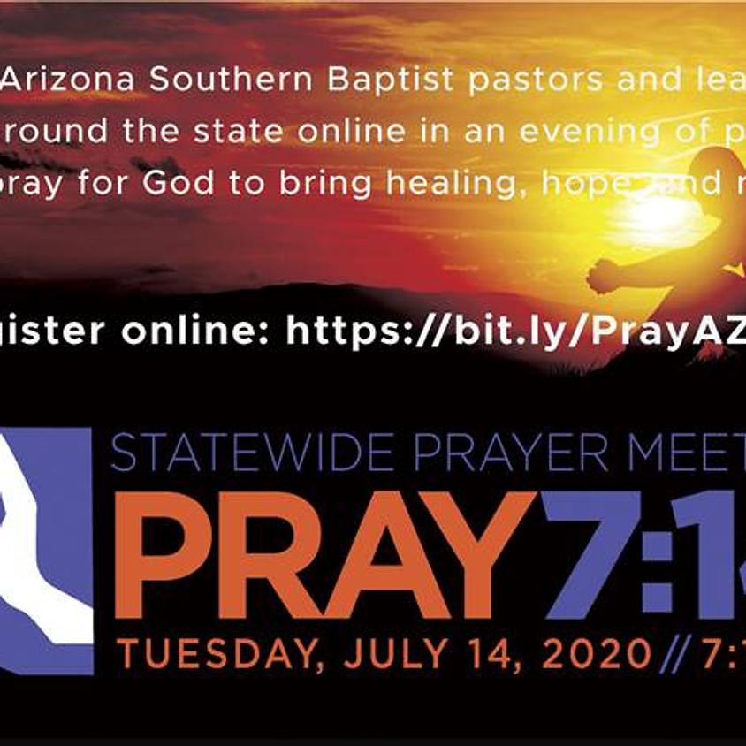 PRAY 7:14 - Statewide Prayer Meeting