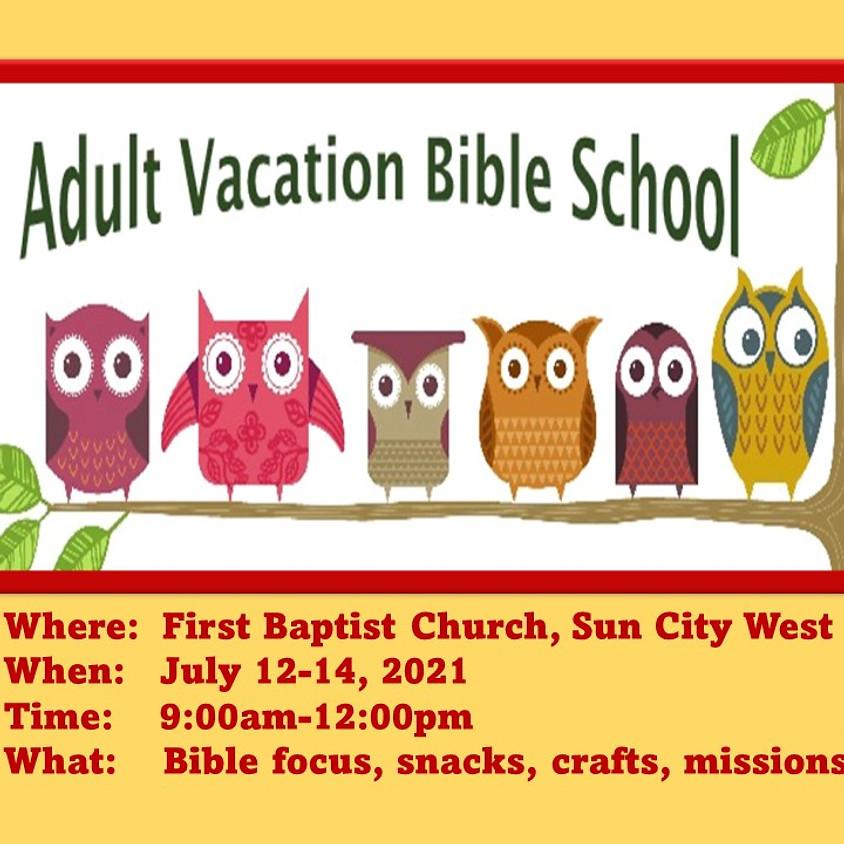 Adult Vacation Bible School