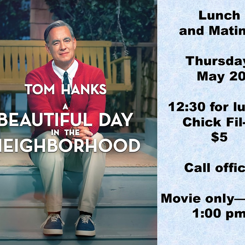 Lunch and Matinee