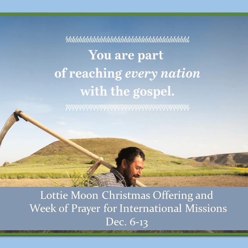 Lottie Moon Christmas Offering