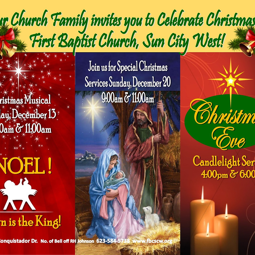 Christmas at First Baptist Church, Sun City West