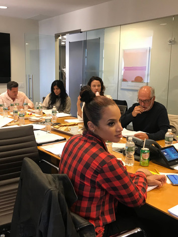 Reading At The Gersh Agency with Michael Cristofer and Dascha Polanco