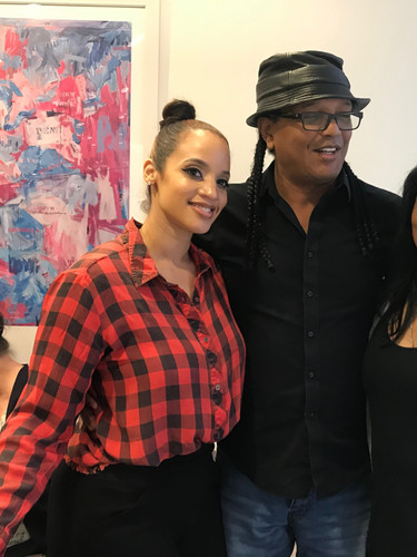 Dascha Polanco, Franc. Reyes and Wanda De Jesus