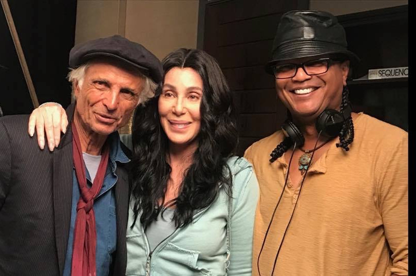 Rob Miano, Cher and Franc. Reyes